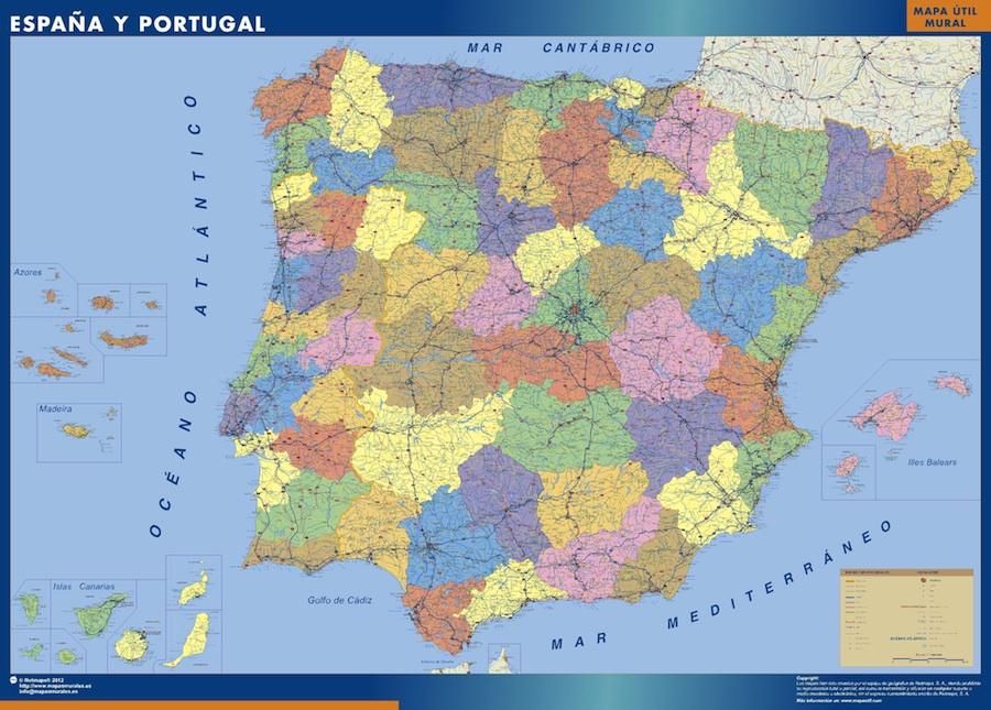 Mapa Espana Provincial