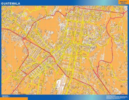 Mapa de Ciudad de Guatemala