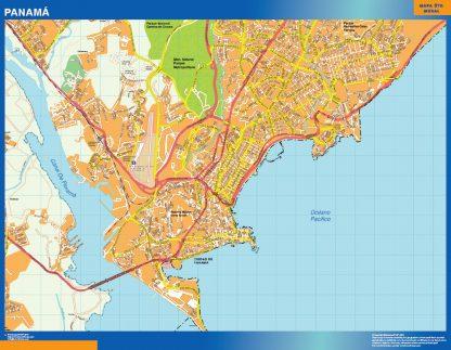Mapa de Ciudad de Panama