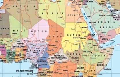 Mapa mundo zoom español